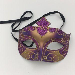 Other - Purple & Pink Mardi Gras Mask